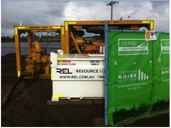 Iluka case study - Temporary Noise Solutions